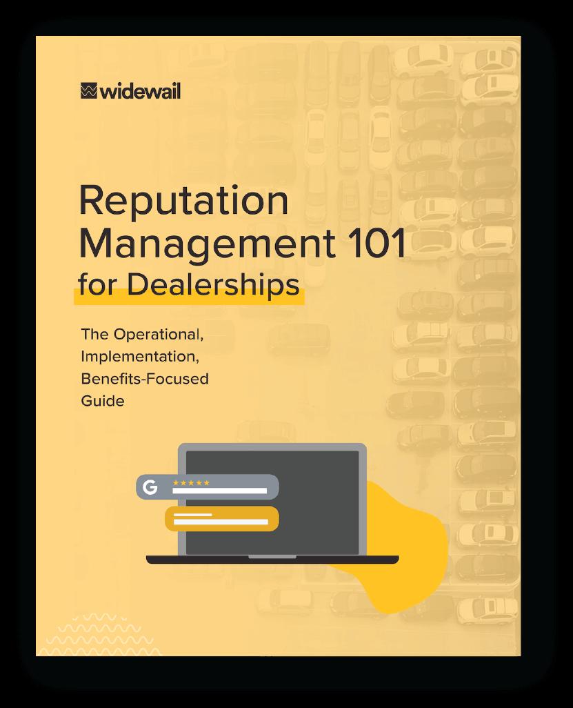 Reputation Management 101 for Dealerships