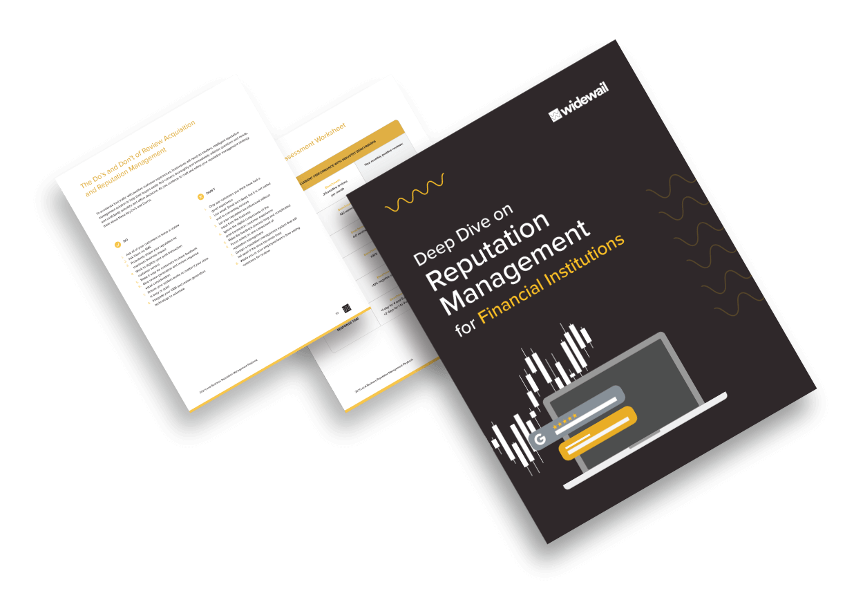 Deep Dive on Reputation Management for Financial Institutions