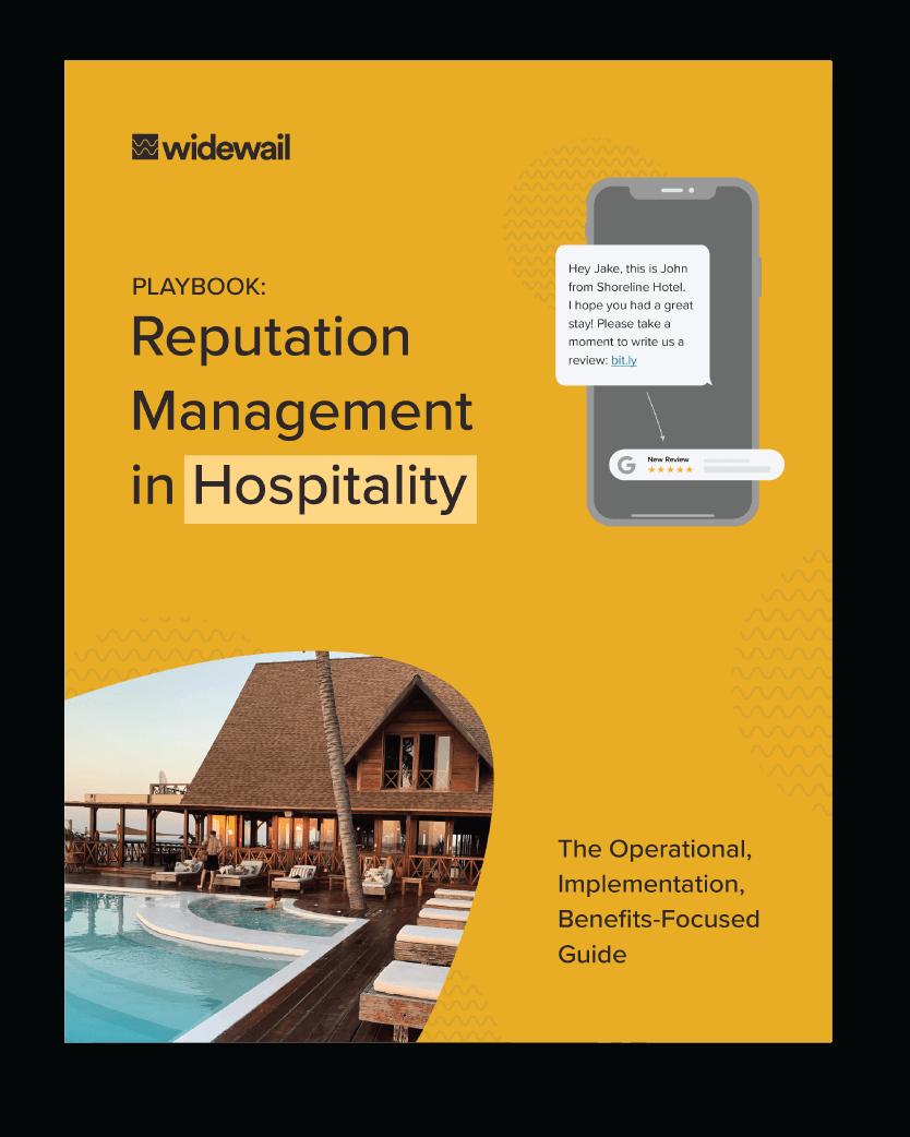 Reputation Management in Hospitality