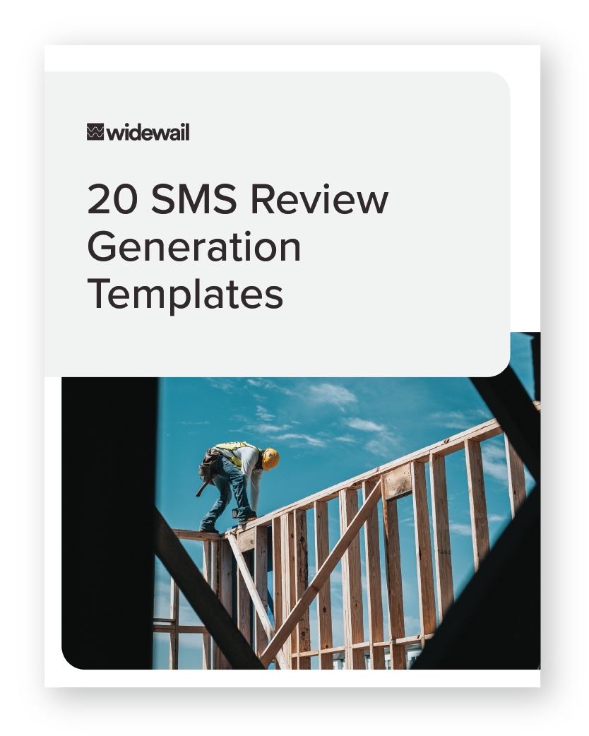20 SMS Review Generation Templates