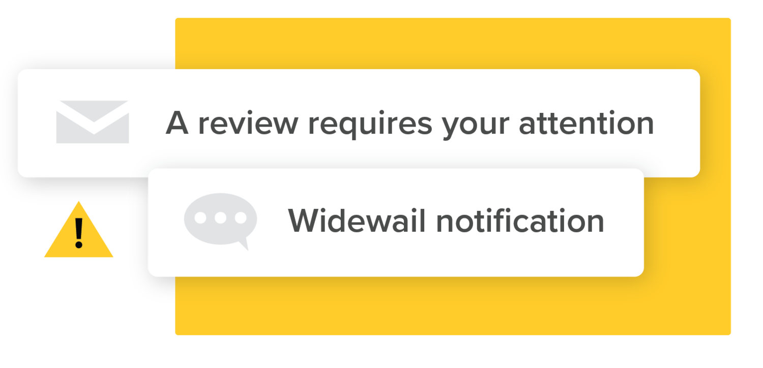SMS Review Notification