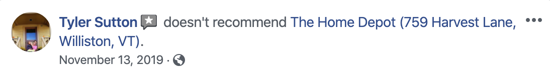 Can I Delete a Facebook Recommendation