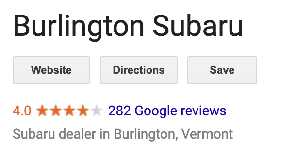 Burlington subaru